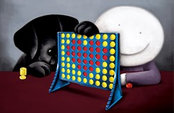 Connect 4 Love by Doug Hyde - Limited Edition on Paper sized 26x17 inches. Available from Whitewall Galleries